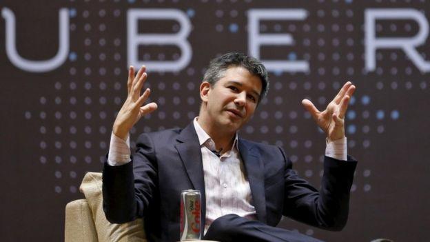 El CEO de Uber Travis Kalanick dejo que es