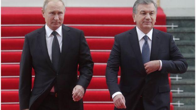 Путин ва Мирзиёев