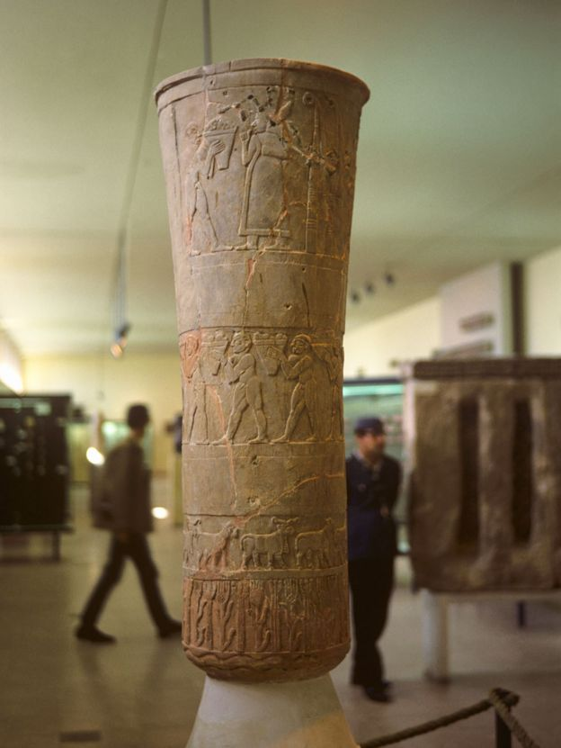 Museum of Lost Objects: Looted Sumerian Seal - BBC News