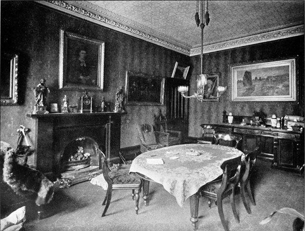 Sala del apartamento de Gilchrist