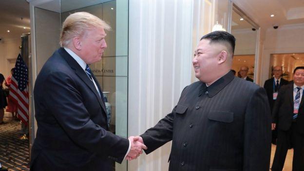 کیم و ترامپ