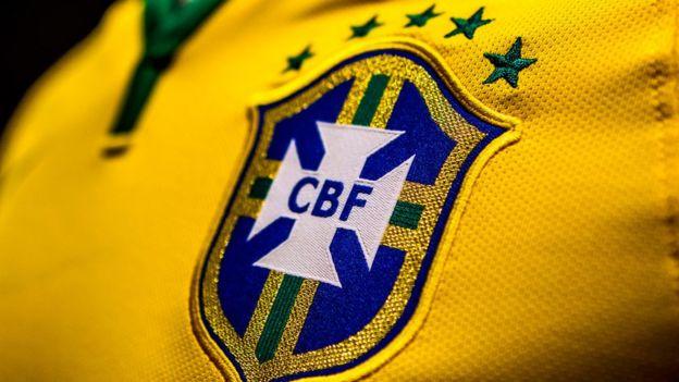 Escudo de la selección brasileña de fútbol