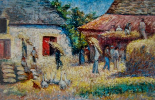 Ham Nghi's painting