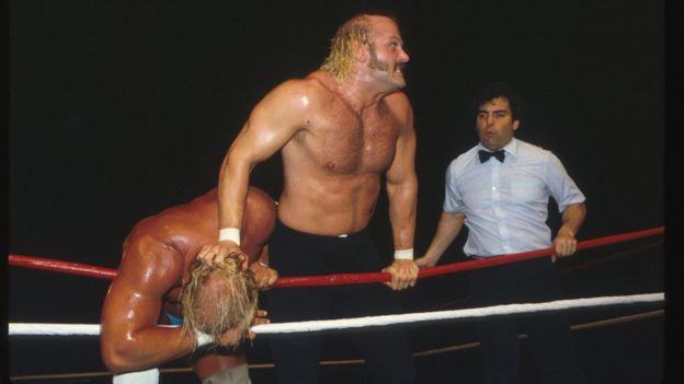 rabat begrænset garanti hæderligt sted Five wrestlers who proved there's life beyond the mat - BBC News