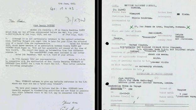 Рассекреченные документы МИ-5