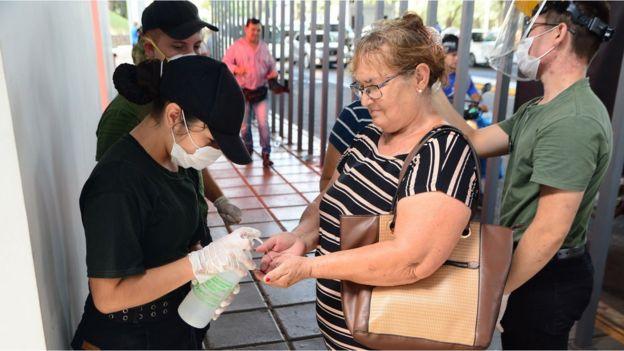 Medidas de higiene en Paraguay