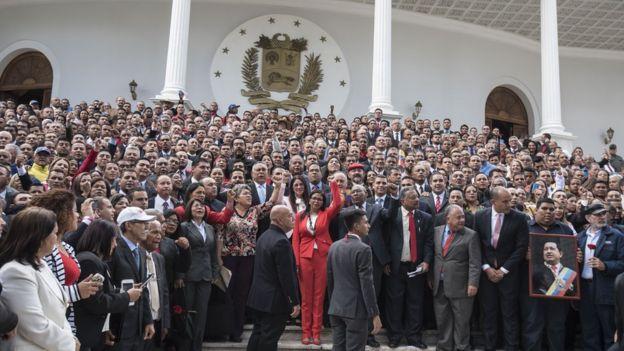 Miembros de la Constituyente