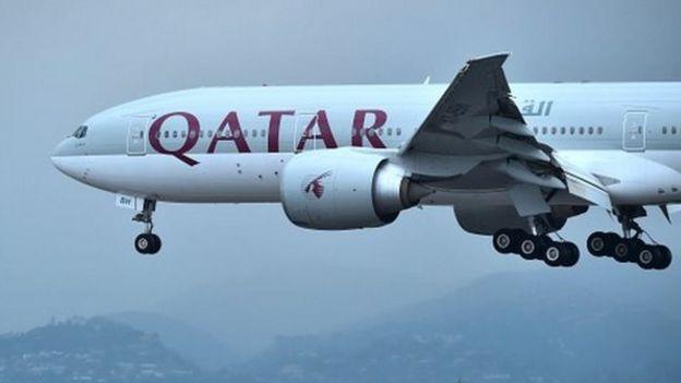 Negara-negara teluk kini menutup wilayah udaranya dari penerbangan Qatar Airways.