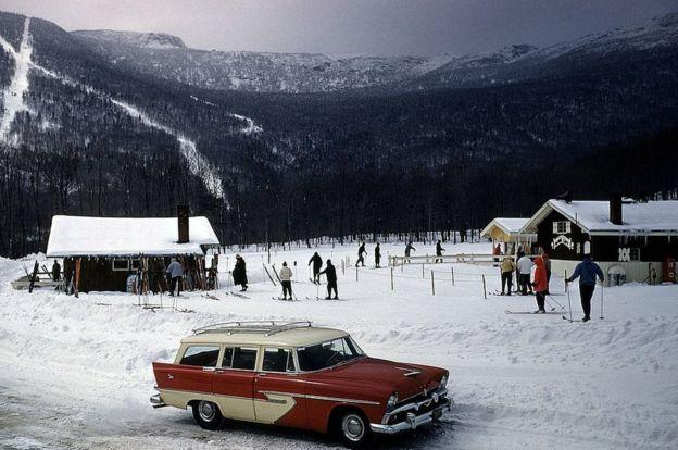 Stowe, Vermont, en 1956