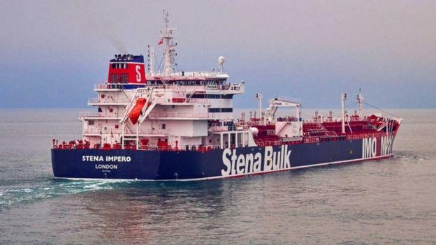 نفتکش توقیف شده بریتانیا: کاردار ایران به وزارت خارجه بریتانیا احضار شد