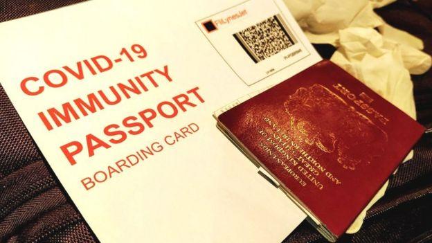 'Covid-19 pasaportu'