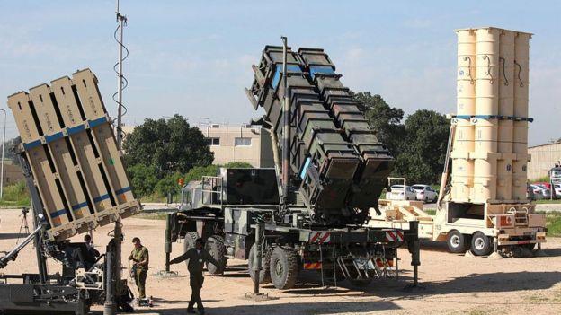 نظام القبة الحديدية الصاروخي