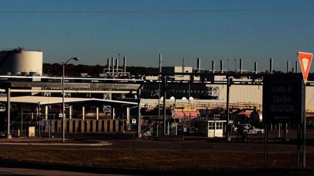 代頓市的通用汽車工廠