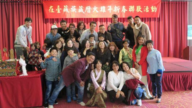 在台藏族藏歷火雞年新春聯歡活動。