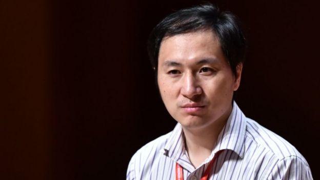 He Jiankui, el científico chino que aseguró haber modificado genéticamente a dos bebés.