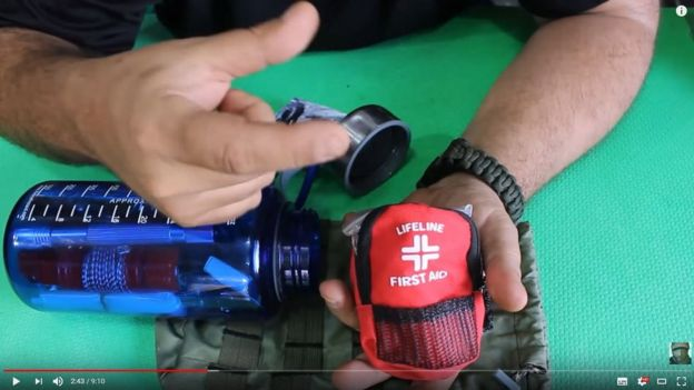 Tutoriais em vídeo ensina a montagem de um kit de sobrevivência