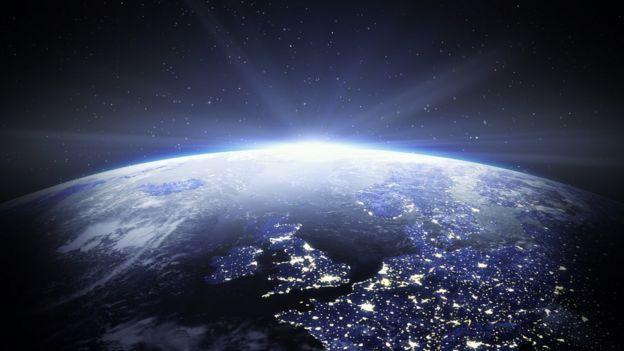 Reino Unido visto do espaço
