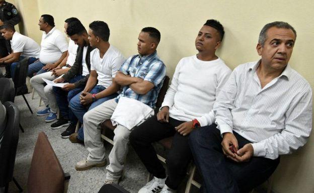 Condenados por la muerte de Berta Cáceres.
