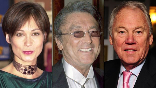 Leah Bracknell, Robert Evans and Peter Sissons