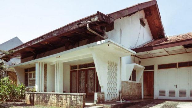 Rumah jengki Kembalinya selera budaya era 1950 an BBC News