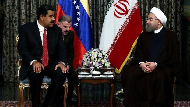 روحانی و مادورو