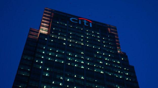 Edificio Citigroup en Londres