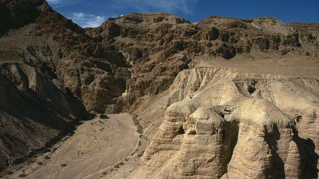 Cañón en Cisjordania, Medio Oriente