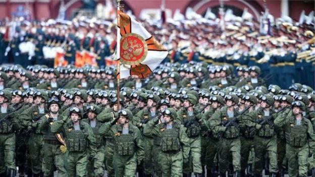 俄罗斯阅兵