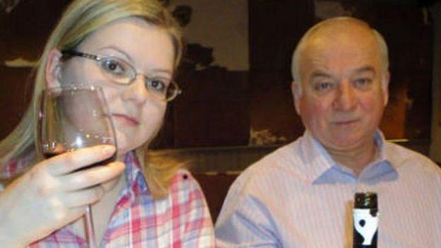 Sergei Skripal və qızı Yulia