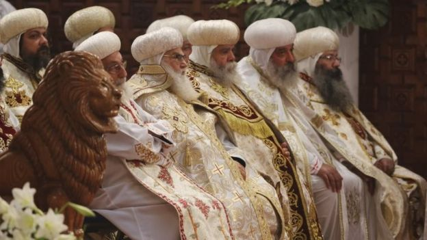 In pictures: Orthodox Christians celebrate Christmas - BBC News