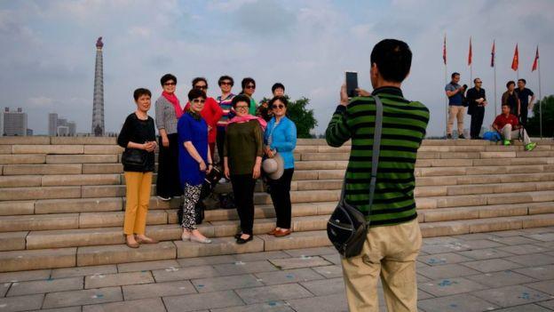 Los chinos representan más del 90% de los turistas que viajan a Corea del Norte.