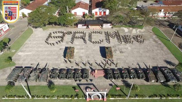 Entrega de blindados Guarani em Porto Alegre