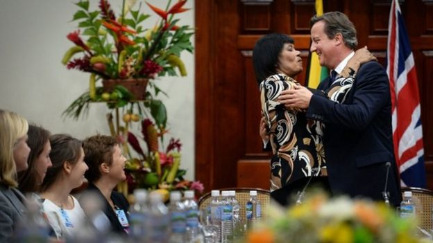 David Cameron rules out slavery reparation during Jamaica