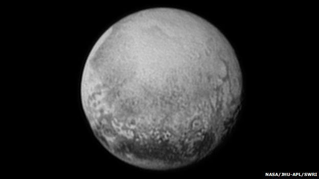 Pluto on 11 July