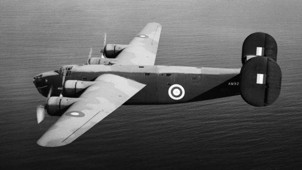 Avião de bombardeio da Força Aérea Britânica, de fabricação americana