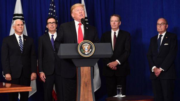 美國多次批評中國侵犯其知識產權、貿易壁壘高,以及中國補貼企業的政策。