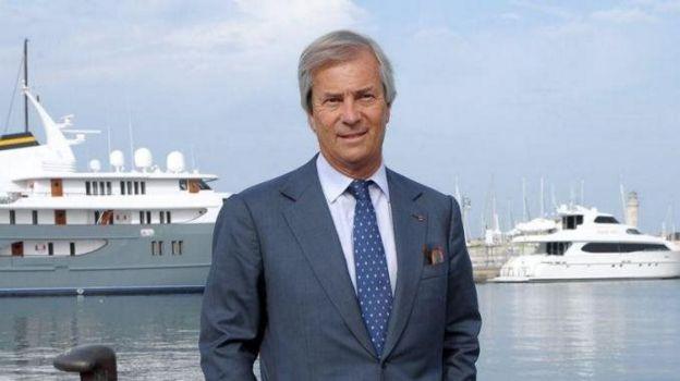 L'homme d'affaires français, Vincent Bolloré