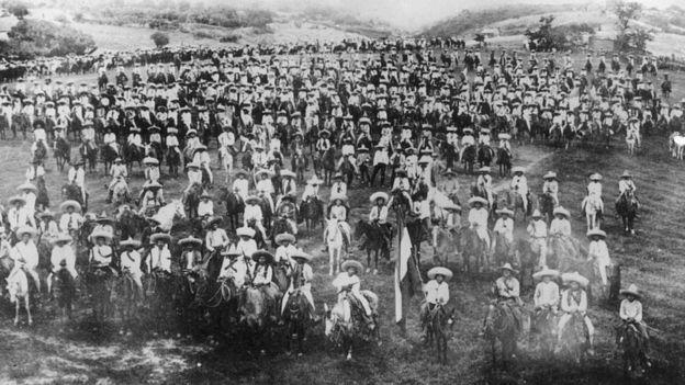 Ejercito revolucionario mexicano