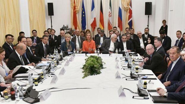 الاتحاد الأوروبي ووزراء خارجية عدد من الدول الأوروبية يؤكدون استمرار التزامهم باتفاق إيران النووي