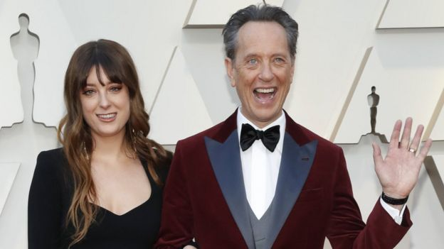 Richard E Grant took his daughter Olivia