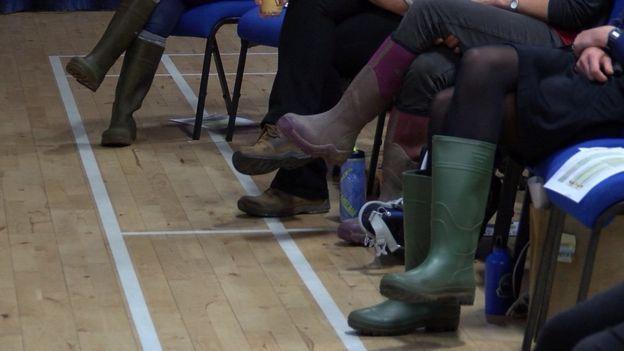 Women in Wellies event