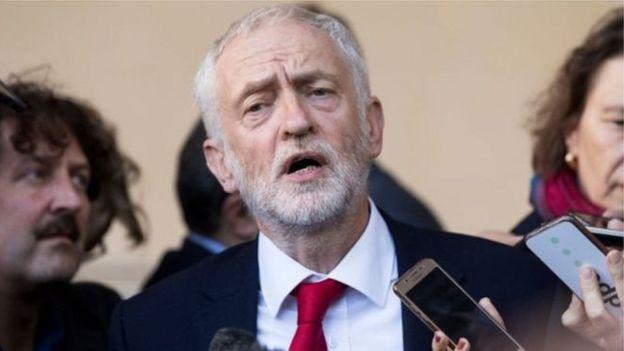 جيريمي كوربين، زعيم حزب العمال المعارض في بريطانيا
