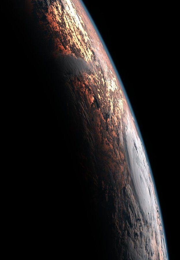 Earth viewed from Japanese weather satellite