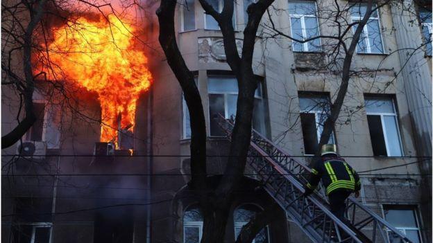 Одеса, пожежа