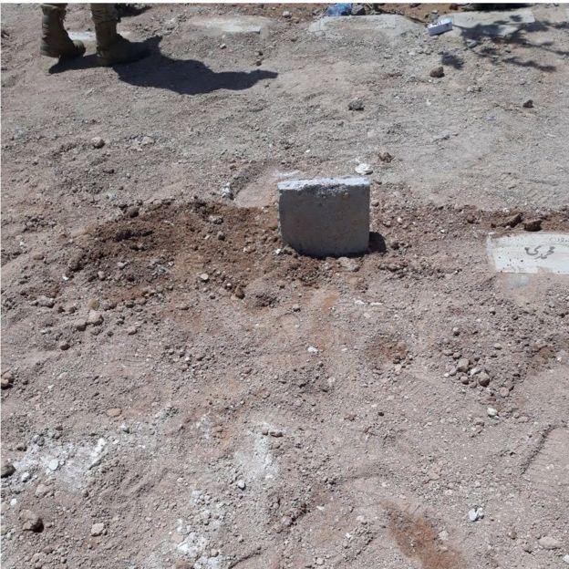 محل دفن محمد ثلاث