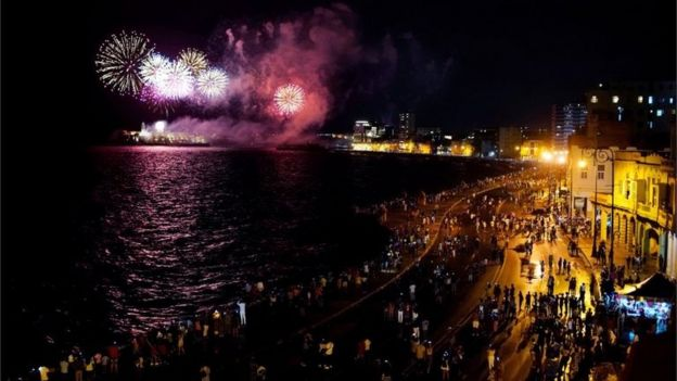 Celebraciones en La Habana