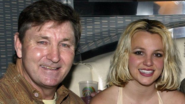 Britney and James Spears