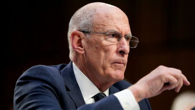 Dan Coats testifies to the Senate Intelligence Committee hearing
