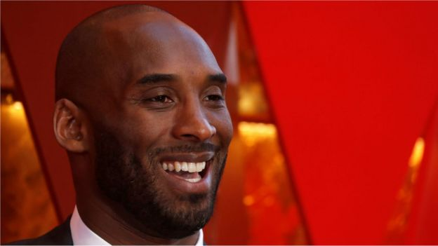 Kobe Bryant attends the Oscars ceremony in 2018