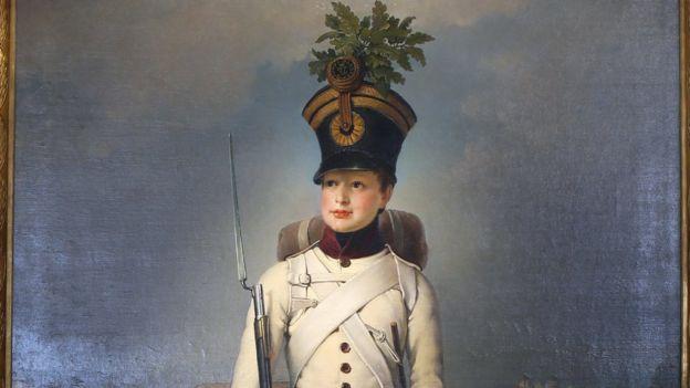 Наполеон II (портрет работы Иоганна Крафта, 1823 год)
